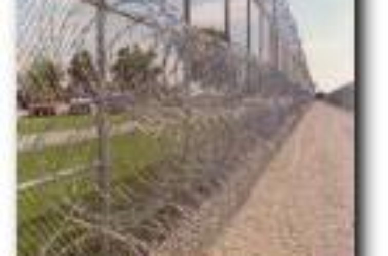 AmeriFence Corporation Wichita - High Security Fencing, 2105 concertina wire 3 coils