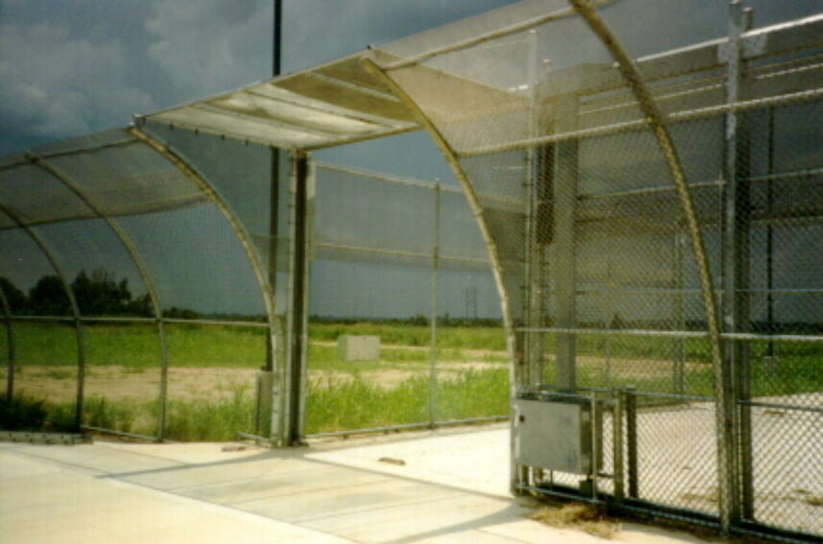 AmeriFence Corporation Wichita - High Security Fencing, 2111TyMetal Plus Gate with First Defence Prison Fencing