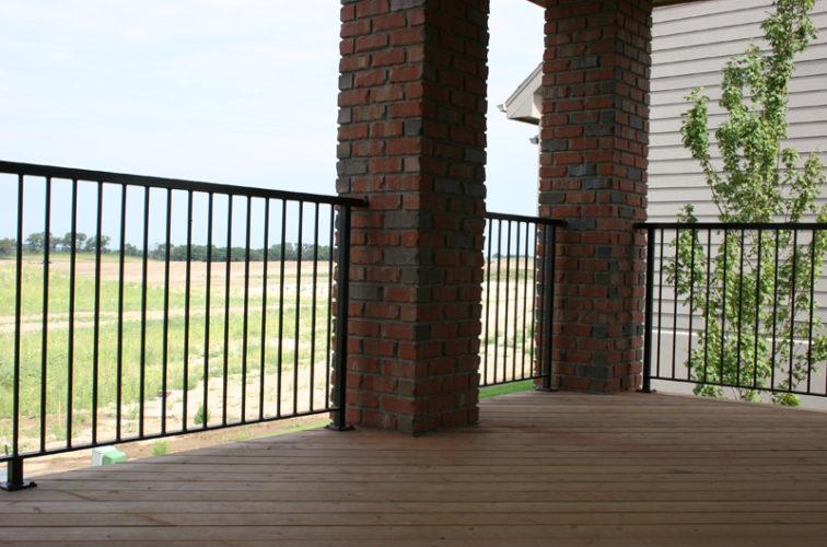 AmeriFence Corporation Wichita - Custom Railing, 2210 Deck railing