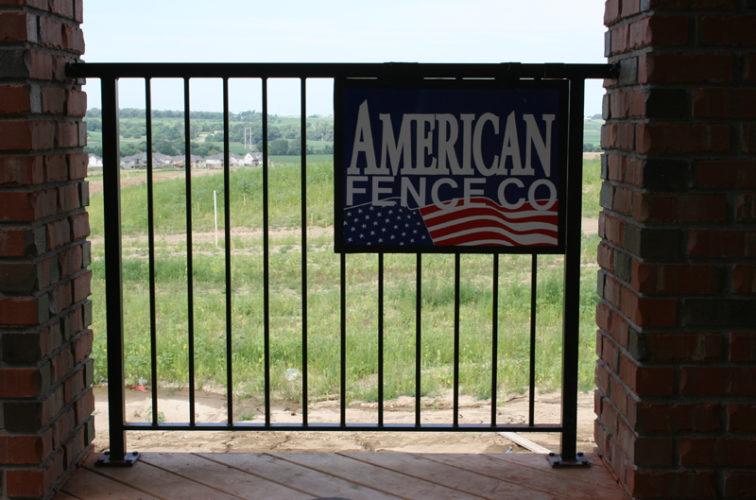 AmeriFence Corporation Wichita - Custom Railing, 2212 Deck Railing