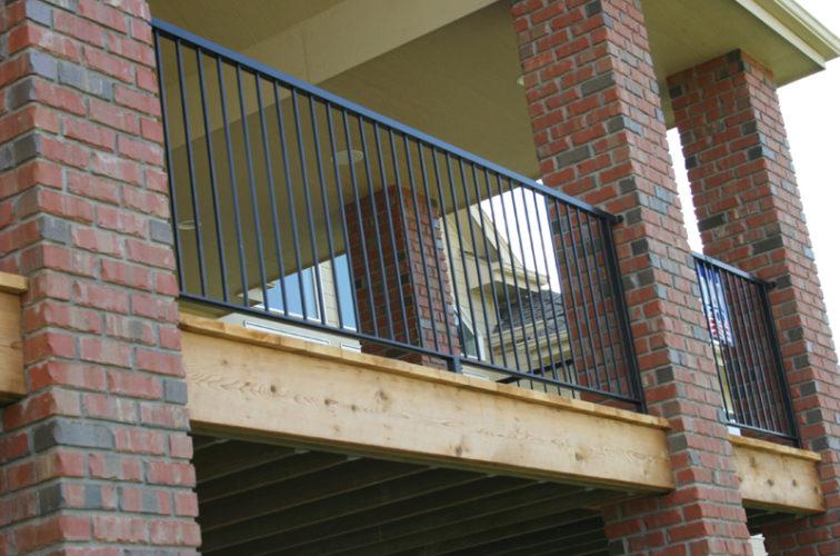 AmeriFence Corporation Wichita - Custom Railing, 2214 Deck Railing