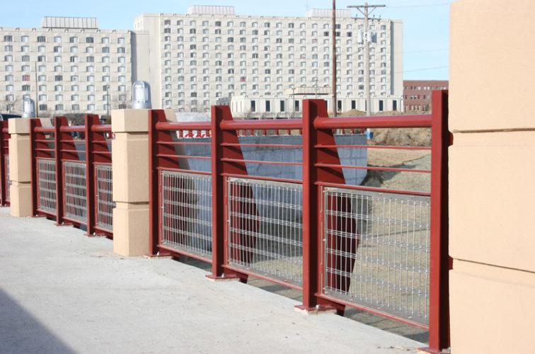 AmeriFence Corporation Wichita - Custom Railing, 2223 Stainless in-fill Railing