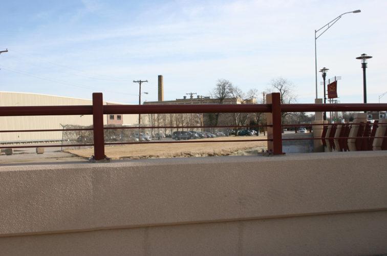 AmeriFence Corporation Wichita - Custom Railing, 2226 Knee Wall Railing