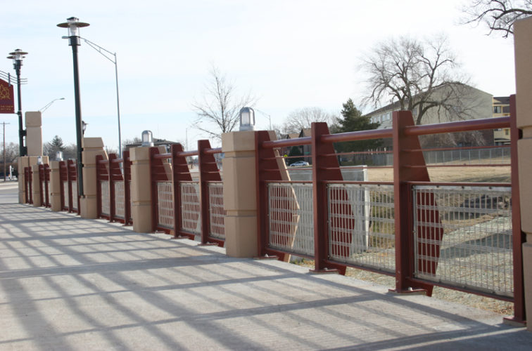 AmeriFence Corporation Wichita - Custom Railing, 2227 Stainless Steel In-fill Railing