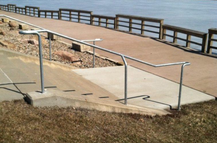 AmeriFence Corporation Wichita - Custom Railing, Custom Galvanized Handrail - AFC - IA