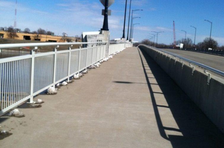 AmeriFence Corporation Wichita - Custom Railing, Custom Ornamental Railing 4 - AFC - IA