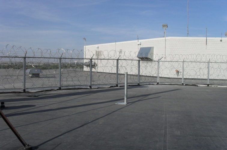 AmeriFence Corporation Wichita - High Security Fencing, Rooftop Concertina