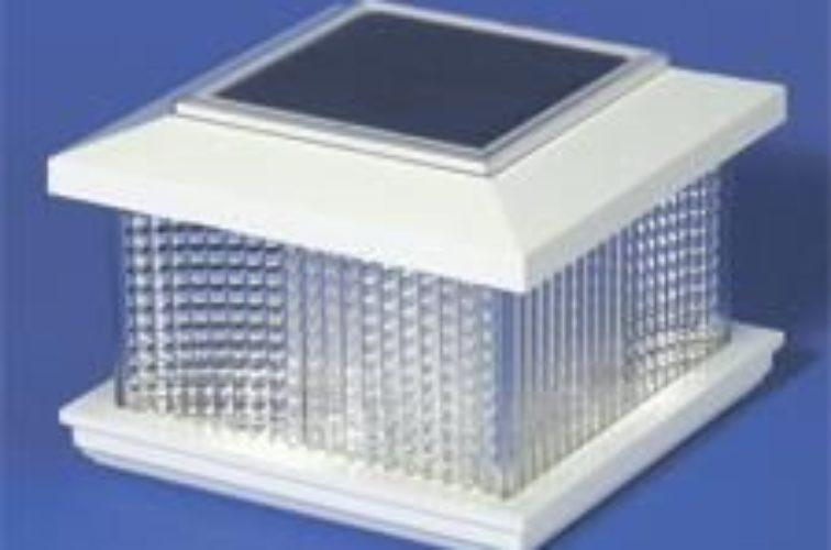 AmeriFence Corporation Wichita - Accessories, Solar Cap Vinyl Posts